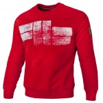 Bluza PIT BULL WEST COAST Classic Logo18 red