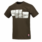 T-shirt PIT BULL WEST COAST Classic Logo brown