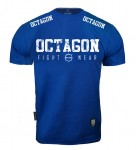 T-shirt OCTAGON Fight Wear 2018 niebieski