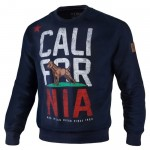 Bluza PIT BULL WEST COAST California Flag granatowa