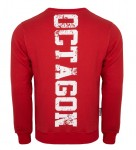 Bluza OCTAGON Fight Wear 19 Czerwona