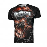 Rashguard Mesh PIT BULL WEST COAST Performance Pro plus Wired Skull