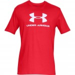 T-shirt UNDER ARMOUR Sportstyle Logo czerwony-600