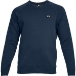 Bluza UNDER ARMOUR Rival Fleece Crew granatowy-408