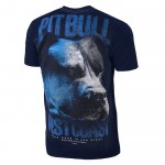 T-shirt PIT BULL WEST COAST Go Hard dark navy