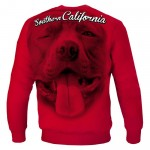 Bluza PIT BULL WEST COAST So Cal red
