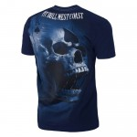 T-shirt PIT BULL WEST COAST Ace Of Spades 18 dark navy