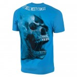 T-shirt PIT BULL WEST COAST Ace Of Spades 18 surfer blue