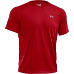 T-shirt treningowy UNDER ARMOUR UA Tech SS Tee czerwony-600