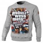 Bluza PIT BULL WEST COAST Most Wanted grey