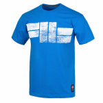 T-shirt PIT BULL WEST COAST Classic Logo blue