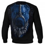 Bluza PIT BULL WEST COAST Skull Dog black
