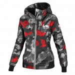 Kurtka damska PIT BULL WEST COAST Aarica 3 camo black/red