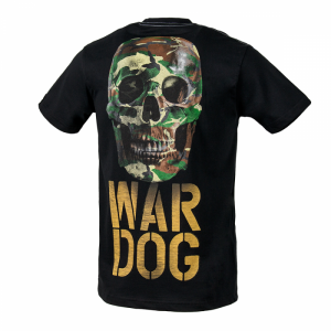 T-shirt PIT BULL WEST COAST War Dog black