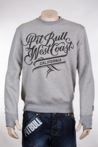 Bluza PIT BULL WEST COAST Smoosh szara