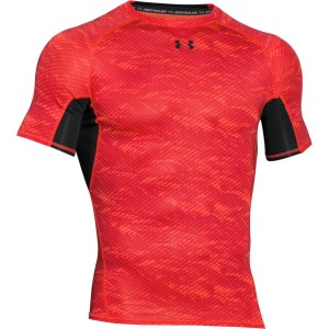 Rashguard UNDER ARMOUR HeatGear® Armour® Compression Printed red