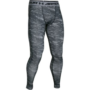 Leginsy UNDER ARMOUR HeatGear® Armour® Compression printed black