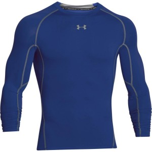 Rashguard UNDER ARMOUR UA HEATGEAR ARMOUR LONGSLEEVE ciemnoniebieski-400