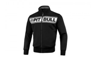 Bluza PIT BULL WEST COAST OLDSCHOOL LOGO BLACK/WHITE
