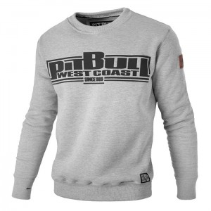 Bluza PIT BULL WEST COAST Boxing grey