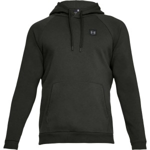 Bluza z kapturem UNDER ARMOUR Rival Fleece PO Hoddie green-357