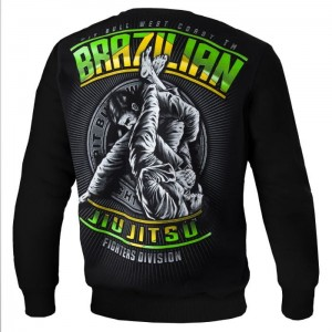 Bluza PIT BULL WEST COAST Brazilian Jiu Jitsu black