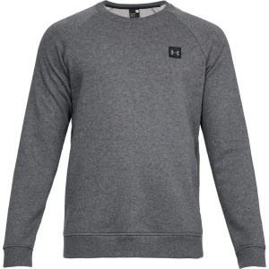 Bluza UNDER ARMOUR Rival Solid Fleece Crew grafit-020