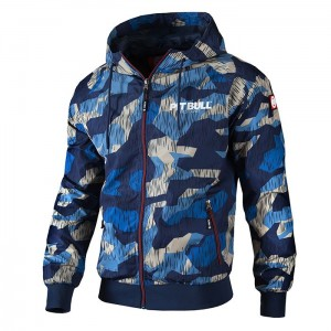 Kurtka PIT BULL WEST COAST Athletic VII camo blue