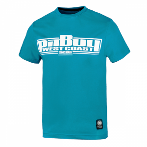 T-shirt PIT BULL WEST COAST Classic Boxing turquoise