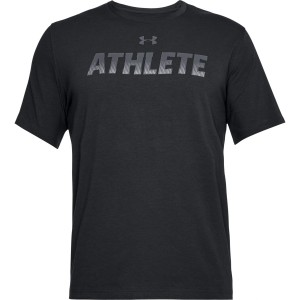 T-shirt UNDER ARMOUR UA Athlete SS czarny-001