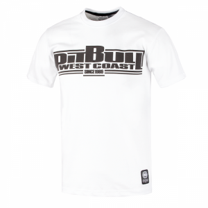 T-shirt PIT BULL WEST COAST Classic Boxing white