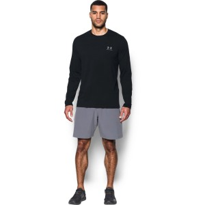 Longsleeve UNDER ARMOUR Left Chest black-001