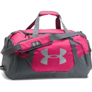 Torba treningowa UNDER ARMOUR Undeniable Duffle 3.0 medium czarno-różowa -654
