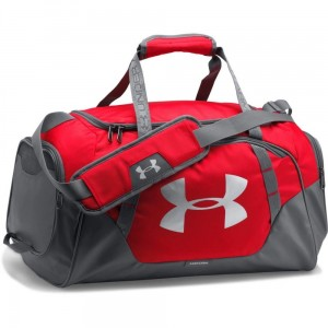 Torba treningowa UNDER ARMOUR Undeniable Duffle 3.0 small czerwona -600