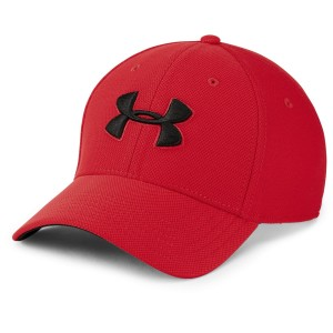 Czapka UNDER ARMOUR Men's Blitzing 3.0 Cap czerwona-600