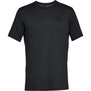 T-shirt UNDER ARMOUR Sportstyle Left Chest SS czarny -001