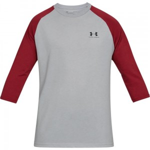 T-shirt UNDER ARMOUR Sportstyle Left Chest 3/4 Tee -011
