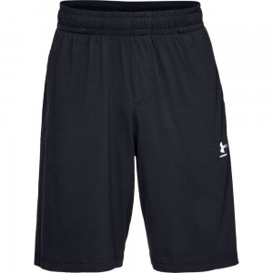 Spodenki UNDER ARMOUR Sportstyle Cotton short czarne -001