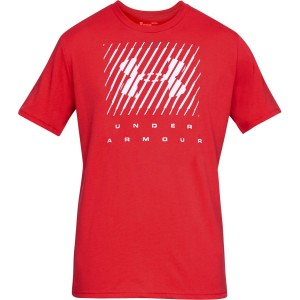 T-shirt UNDER ARMOUR UA Branded BL SS czerwony -633