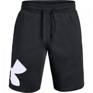 Spodenki UNDER ARMOUR Rival Fleece Logo czarne -001