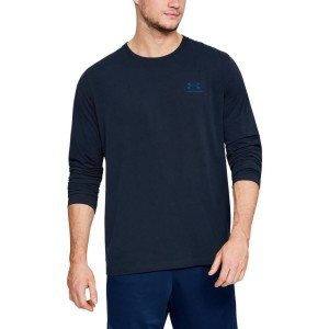 Longsleeve UNDER ARMOUR Left Chest navy-408