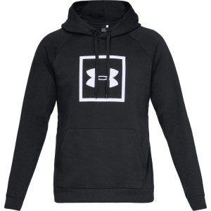 Bluza z kapturem UNDER ARMOUR Rival Fleece Logo Hoodie czarny-001
