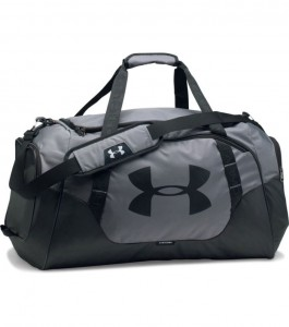Torba treningowa UNDER ARMOUR Undeniable Duffle 3.0 small grey-040