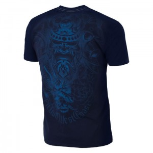 T-shirt PIT BULL WEST COAST Samurai dark navy