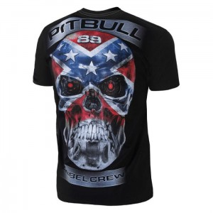T-shirt PIT BULL WEST COAST Skull Rebel 18