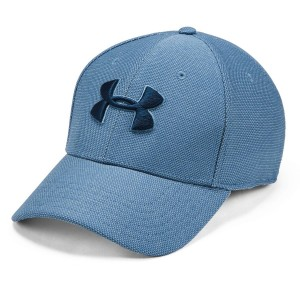 Czapka UNDER ARMOUR Men's Heathered Blitzing 3.0 niebieska-407