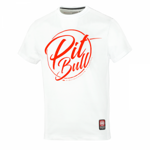 T-shirt PIT BULL WEST COAST Inside white