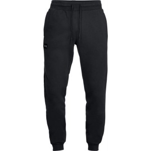 Spodnie UNDER ARMOUR Rival Fleece Script Jogger black-001
