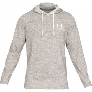 Bluza z kapturem UNDER ARMOUR Sportstyle Terry Hoodie szara 112
