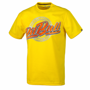 T-shirt PIT BULL WEST COAST San Diego VIII yellow